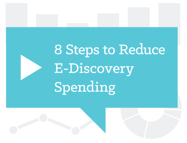 Your E-discovery Manager Thinks You Can Save Money with These Five Steps