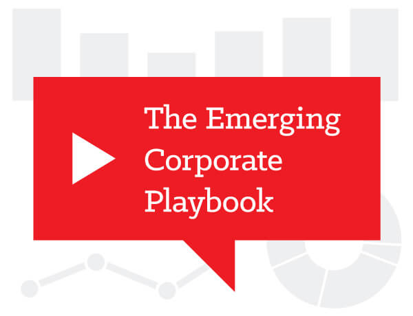The Emerging Corporate Playbook