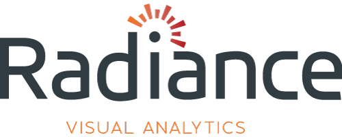 Radiance visual analytics logo