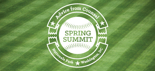 Advice from Counsel spring summit
