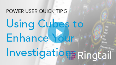 Quick Tip: Using Cubes to Enhance Your Investigations