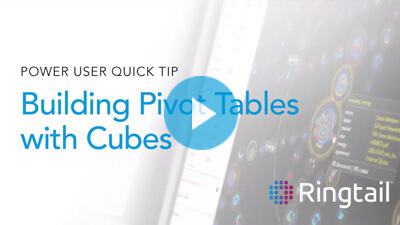 Quick Tip: Building Pivot Tables with Cubes