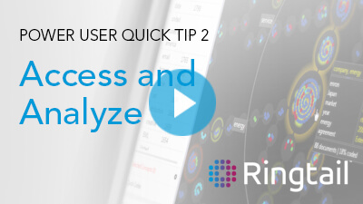 Ringtail quick tip 2