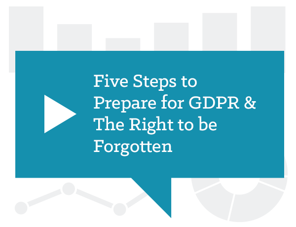 Five Steps to Prepare for GDPR