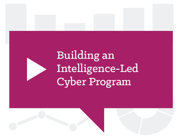 Building an Intelligence-Led Cyber Program