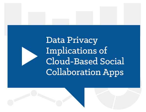 Data Privacy Implications of Cloud-Based Social Collaboration Apps